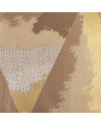 Ткань портьерная жаккард 3D «Лютиция» ширина 280 см, длина 10 м, пл. 330 г/м2 арт. СМЛ-35581-1-СМЛ0005104265