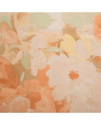 Штора портьерная Блэкаут «Flora» размер 140х260 см, цвет бежевый арт. СМЛ-36870-1-СМЛ0005108507