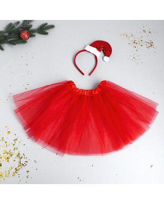 Карнавальный набор «Красотка» ободок-колпак, юбочка арт. СМЛ-123174-1-СМЛ0005113331