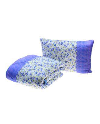 Комплект (одеяло, подушка) «Миродель», размер 145х205 см ( ± 5 см), 50х70 см, цвета МИКС, холлофан, п/э, чехол арт. СМЛ-40961-1-СМЛ0000511442