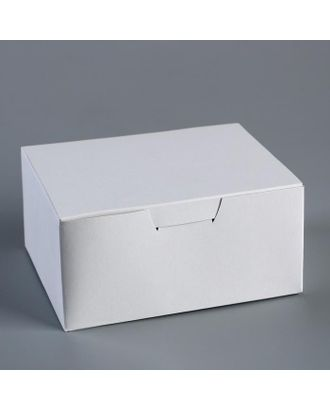 "Контейнер на вынос ""Белый"" 14,5х11,5х7 см арт. СМЛ-118199-1-СМЛ0005114630"