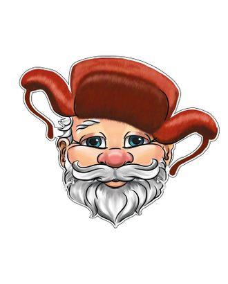 Маска картон Дедка арт. СМЛ-122395-1-СМЛ0005115418
