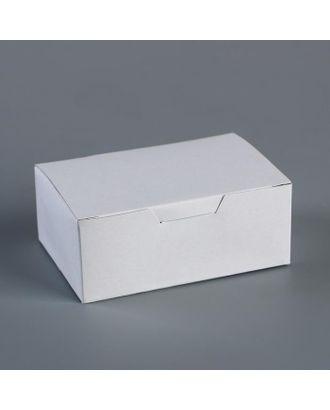 "Контейнер на вынос ""Белый"" 11,5х7,5х4,5 см арт. СМЛ-111073-1-СМЛ0005119334"