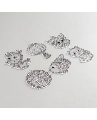 Витражи-мини- 6шт, набор 20 восточный карнавал SDOPP-S20 арт. СМЛ-36012-1-СМЛ0005132797
