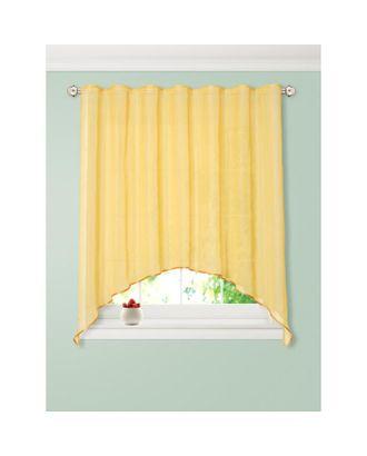 Штора для кухни вуаль (арка) размер 250х170 см, цвет телесный арт. СМЛ-36866-1-СМЛ0005148599