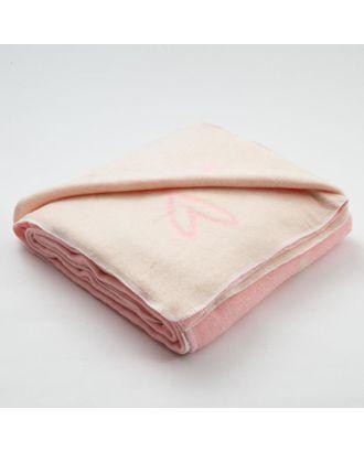 "Одеяло ""Крошка Я"" Heart, 110х145 см, 78% хл., 22% п/э арт. СМЛ-117817-1-СМЛ0005153066"