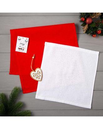 Набор полотенец LoveLife «Сердце» : вафля 35х60 см, махра 30х30 см + игрушка арт. СМЛ-39185-1-СМЛ0005163100