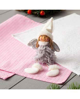 """Набор полотенец LoveLife """"Волшебство"""" (вид 2) : вафля 35*60 см, махра 30*30 см + игрушка арт. СМЛ-39890-1-СМЛ0005163114"""