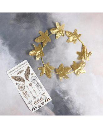 Карнавальный набор «Афродита» ободок, тату арт. СМЛ-123598-1-СМЛ0005169392