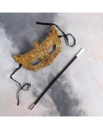 Карнавальный набор Criminal girl маска, мундштук арт. СМЛ-123601-1-СМЛ0005169395
