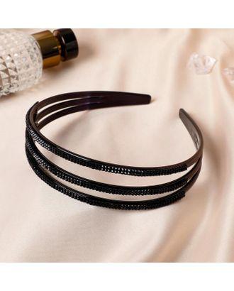 """Ободок для волос """"Ночные грёзы"""" 2,3 см, три линии арт. СМЛ-109347-1-СМЛ0005169490"""