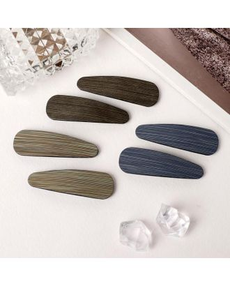 """Невидимка для волос """"Герти"""" (набор 6 шт) 5,5 см дерево арт. СМЛ-112086-1-СМЛ0005179566"""