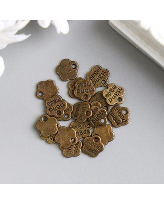 """Подвеска """"Handmade"""" античная бронза, 8мм арт. СМЛ-41736-1-СМЛ0005191090"""