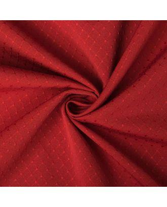 """Штора портьерная """"Этель"""" 130х280 см Английский стиль красный,100% п/э арт. СМЛ-19983-3-СМЛ0005208312"""