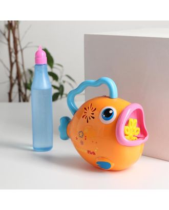 Генератор мыльных пузырей на батарейках «Рыбка» 15,5х9х15 см МИКС арт. СМЛ-122503-1-СМЛ0005215878