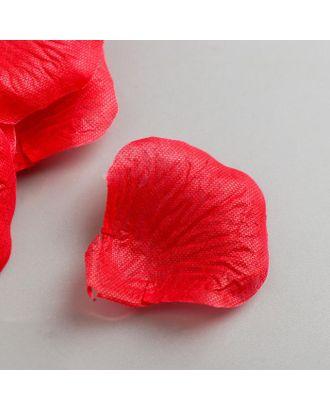 Набор декоративных лепестков розы из ткани 5,5 см, 144 шт, бордовый арт. СМЛ-121794-1-СМЛ0005219447