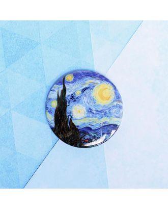 """Значок """"Звездное небо"""", 56 мм арт. СМЛ-105280-1-СМЛ0005244446"""