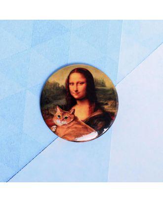 "Значок ""Мона Лиза"", 56 мм арт. СМЛ-105283-1-СМЛ0005244449"