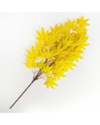 """Декор """"Листья на ветке"""", цвет желтый арт. СМЛ-124208-1-СМЛ0005274849"""