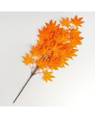 """Декор """"Листья на ветке"""", цвет оранжевый арт. СМЛ-124209-1-СМЛ0005274850"""