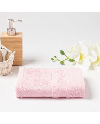 Полотенце махровое (в коробке) ELARA 50х90 см, розовый, хлопок 100%, 400г/м2 арт. СМЛ-121904-1-СМЛ0005277075