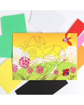 Аппликация 3D «Милая пчелка» из ЕVA арт. СМЛ-122441-1-СМЛ0005287633