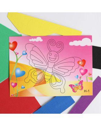 Аппликация 3D «Прекрасная бабочка» из ЕVA арт. СМЛ-122446-1-СМЛ0005287638