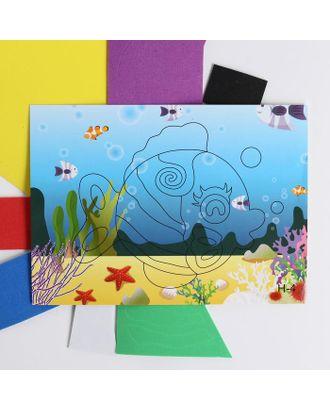 Аппликация 3D «Золотая рыбка» из ЕVA арт. СМЛ-122449-1-СМЛ0005287641