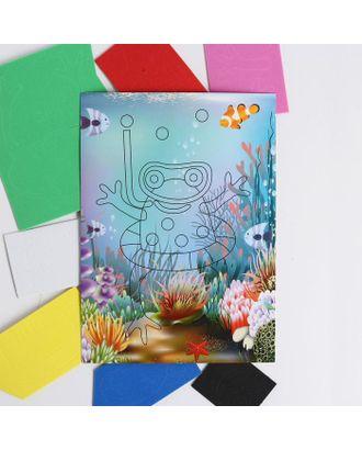 Аппликация 3D «Лягушка-квакушка» из ЕVA арт. СМЛ-122455-1-СМЛ0005287647