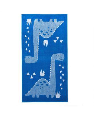 """Полотенце махровое """"Этель"""" Dinotime, 70х130 см, 100% хлопок, 420гр/м2 арт. СМЛ-124705-1-СМЛ0005287908"""
