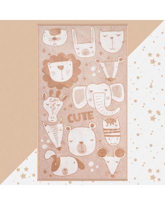 """Полотенце махровое """"Этель"""" Cute, 70х130 см, 100% хлопок, 420гр/м2 арт. СМЛ-124710-1-СМЛ0005287916"""