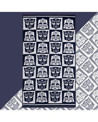 "Полотенце махровое ""Transformers"", 70х130 см, 100% хлопок, 420гр/м2 арт. СМЛ-124730-1-СМЛ0005287931"