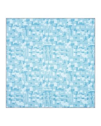 Палас МАТРИЦА 200х400 см, синий 50/19, войлок 195 г/м2 арт. СМЛ-117768-1-СМЛ0005302455