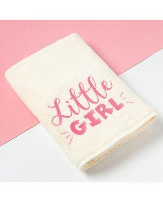 """Полотенце махровое Этель """"Little girl"""" 70х130 см, 100% хлопок, 340гр/м2 арт. СМЛ-112039-1-СМЛ0005309882"""