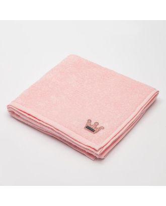 """Полотенце детское Крошка Я """"Sweet love"""" 50*90 см, цв.розовый 100% хлопок арт. СМЛ-106103-1-СМЛ0005351011"""