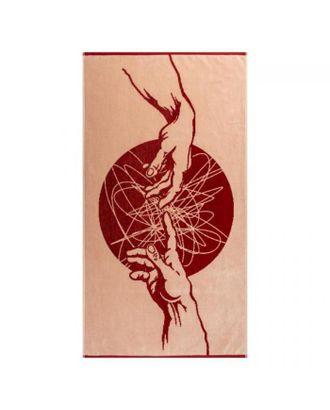 Полотенце махровое Fresco ПЦС-2602-4444 50х90, красный, хлопок 100%, 460г/м2 арт. СМЛ-124986-1-СМЛ0005381187