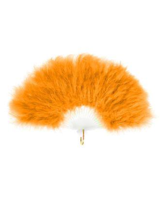 Веер пуховой, 30 см, цвета МИКС арт. СМЛ-122994-1-СМЛ0005390828