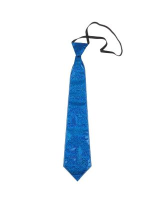Карнавальный галстук «Блеск», на резинке, цвета МИКС арт. СМЛ-122995-1-СМЛ0005390829