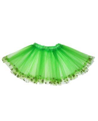 Карнавальная юбка «Горошек», цвет зелёный арт. СМЛ-122998-1-СМЛ0005399918