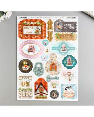 "Набор чипборда ""Sweet Home"" 21х29,7 см арт. СМЛ-122383-1-СМЛ0005433637"