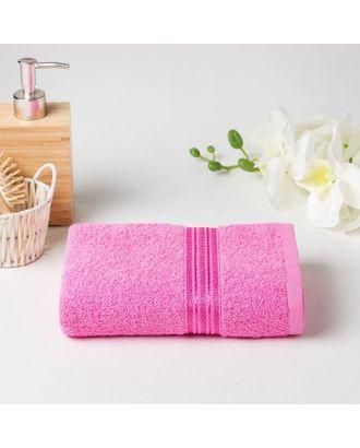 Полотенце махровое АФИНА 03-058 50х90 см, розовый, хлопок 100%, 430г/м2 арт. СМЛ-125007-1-СМЛ0005450153