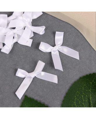 Декор «Бантики», пришивные, 8 шт, цвет белый арт. СМЛ-123002-1-СМЛ0005465204