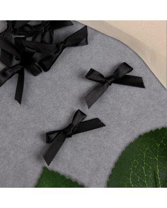 Декор «Бантики», пришивные, 8 шт, цвет чёрный арт. СМЛ-123004-1-СМЛ0005465206