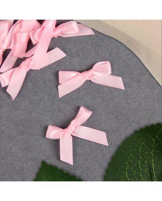 Декор «Бантики», пришивные, 8 шт, цвет розовый арт. СМЛ-123005-1-СМЛ0005465207