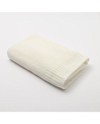 """Полотенце махровое Этель """"Минимализм"""" 70*140 см, цв. белый 100% хл, 360 гр/м2 арт. СМЛ-125277-1-СМЛ0005469165"""