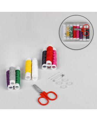 Набор для шитья в пластиковой коробке арт. СМЛ-29451-1-СМЛ0636666