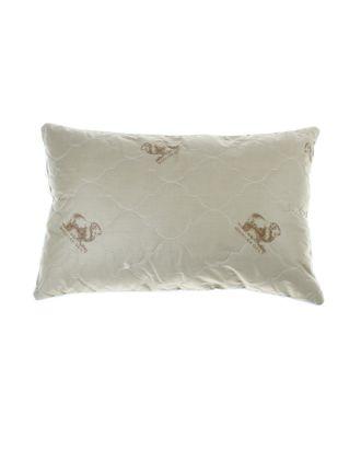 """Подушка Адамас """"Овечья шерсть"""", размер 40х60 см, чехол тик арт. СМЛ-24571-1-СМЛ0648091"""