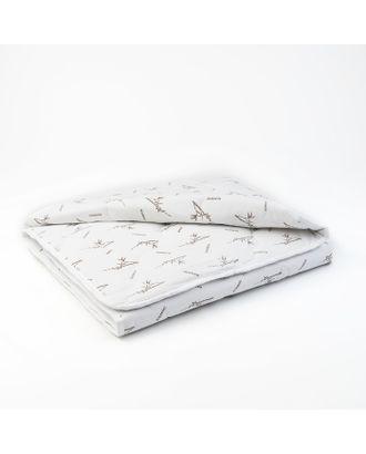 """Одеяло всесезонное Адамас """"Бамбук"""", размер 110х140 ± 5 см, 300 гр/м2, чехол поликоттон, цвет микс арт. СМЛ-24572-1-СМЛ0648093"""