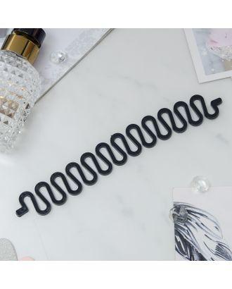 Змейка для плетения колоска, чёрная арт. СМЛ-24616-1-СМЛ0695887
