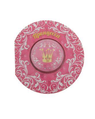 """Прессованное полотенце на открытке """"Collorista"""" Принцесса 28х28 см, хлопок арт. СМЛ-24623-1-СМЛ0702960"""
